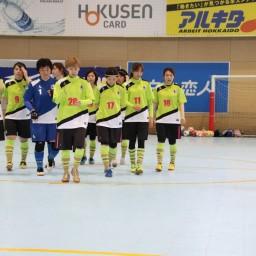 北海道女子フットサルリーグ1部 第5節結果
